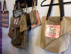 Assorted purses and bags