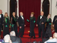 Adult singing group performs at Fonda Arts Center