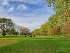 People golfing at Fonda Golf Course