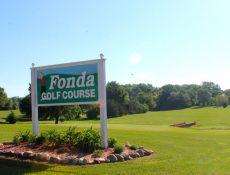 Fonda Golf Course sign