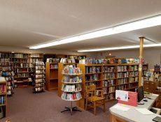 Interior of Gilmore City Public Library