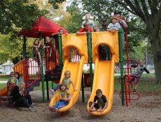 Children on playground