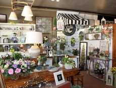 Wide variety of floral and home goods inside Heart 'n Home