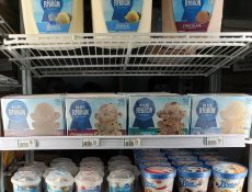 Assorted ice cream at Heartland Pronto Store