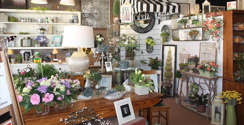 Interior of a local shop