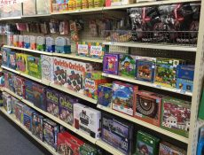 Game and puzzle aisle