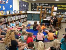 Storytime at Laurens Public Library