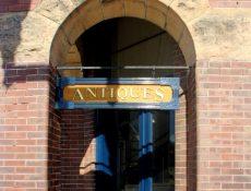 McMullen Antiques doorway