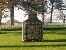 Old Rolfe historical marker