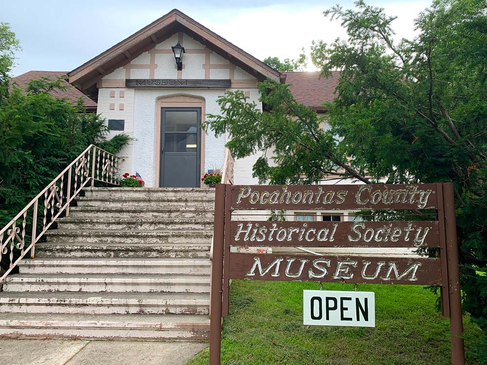 Exterior of Pocahontas County Historical Society Museum