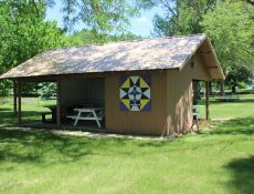 Shelter at Plover City Park
