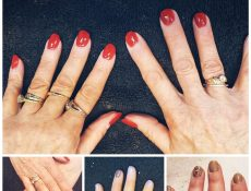 Assorted manicures