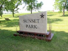 Sunset Park sign
