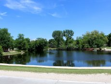 Pond at Sunset Ridge Park