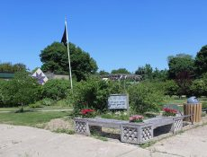 Veterans' Memorial Park in Havelock, Iowa