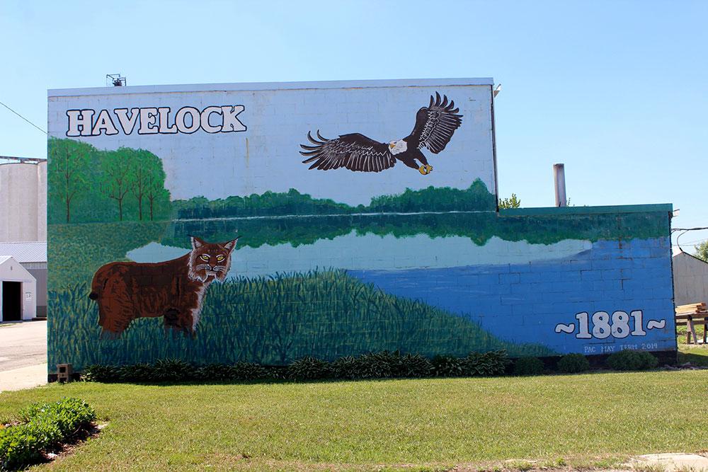 Havelock mural