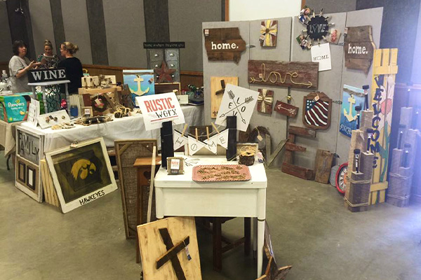 Assorted crafts and home goods