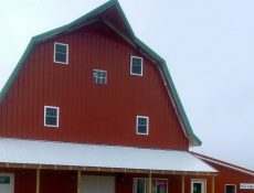 Grandpa's Barn and Vineyard exterior