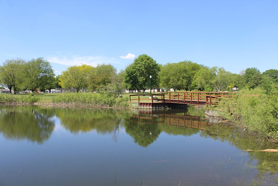 SportsmansPark Bridge