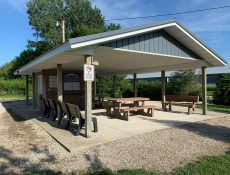 Wilcox shelter and restrooms